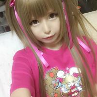 「火星少女ひなり」  第一弾Tシャツ+ステッカーのセット!  トロピカルピンクバージョン!