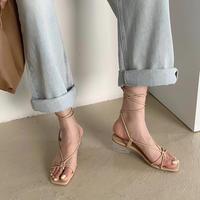 【 last1 】Laceup Line Sandal #1-1200-2