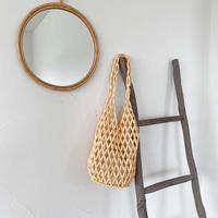 【 sale 】Wood Beads Marchebag 3-B5115
