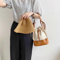 2way Linen Combi Bag 3-B5117