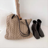 Knit Tote Bag【3-B6891】