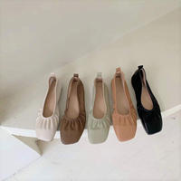 \再販/Soft Gather Pumps 【1-808-6】