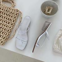 Clearheel Nudie Sandal  1-1200-6
