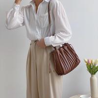 2way Pleats Bag【3-B2118】