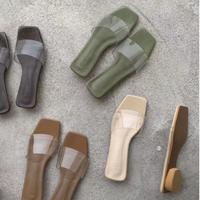 Pvc Clear Sandal 1-678-3