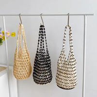 Wood Beads Marchebag 3-B5115
