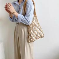 【 sale 】Macrame Hand Bag 3-B1019