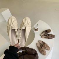 【20AW】Turban mule sandal 1-8888-8