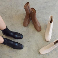 Woodheel Stretch Boots【1-7474】