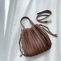 \人気/2way Pleats Bag【3-B8111】