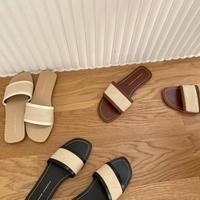 Rustic Flat Sandal #1-193-29