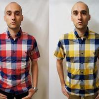 ネバートラスト ラウンドカラーシャツ
