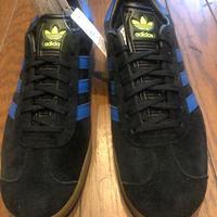 Adidas GAZELLE アディダス ガッツレー ガゼル CORE BLACK/CORE BLUE/GUM
