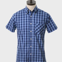 ART GALLERY CLOTHING S/S Button Down LARK WOVEN SHIRT