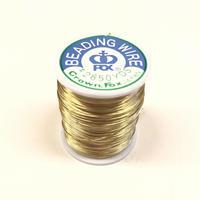 糸針金ワイヤー #28 ゴールド 1巻