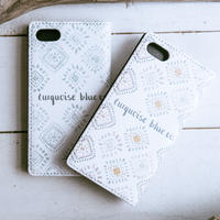 Turquoise Blue Co. iPhone Diary Cover