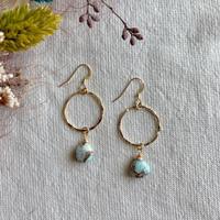 Kalusaito Earrings / blue