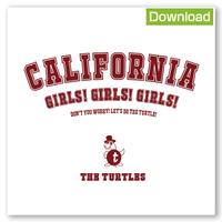 【ダウンロード版】ザ・タートルズ  『California Girls! Girls! Girls!』(音源 + ジャケット歌詞カードデータ付き)