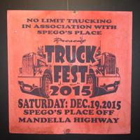 ジャマイカイベントサイン(イベント告知ボード)TRUCK FEST@MANDELLA HIG WAY