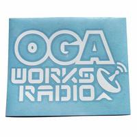 OGA [JAH WORKS] / OGA WORKS RADIO カッティングステッカー※特典 オガラジ 幻の5週目CD付