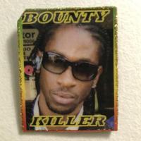 ジャマイカ直輸入 BOUNTY KILLER ハンドメイドバッチ