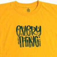 "TURTLE MAN's CLUB  ""EVERYTHING"" T-SHIRTS [YELLOW]XS〜XXL"
