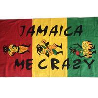 無くなり次第終了!ジャマイカ特大バスタオル  JAMAICA ME CRAZY