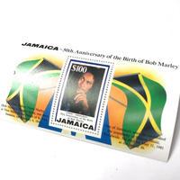 ジャマイカ直輸入  レア  BOB MARLEY生誕50周年限定デザイン 切手