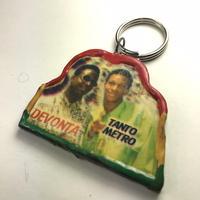 ジャマイカ直輸入 アーティスト キーホルダー TANTO METRO&DEVONTE デッドストック