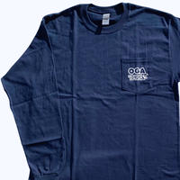 OGA [JAH WORKS] / OGA WORKS RADIO LONG SLEEVE T-SHIRT《NAVY》