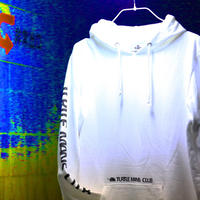 TURTLE MAN'S CLUB HOODIE [ WHITE ]
