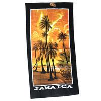 ジャマイカ特大バスタオル  JAMAICA 夕日
