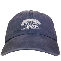 【LIFE SEED】JAH WORKS Pigment-Dyed Cap NAVY