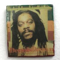 ジャマイカ直輸入 DENNIS BROWN ハンドメイドバッチ