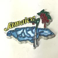 ジャマイカ直輸入!島型、アキのマグネット