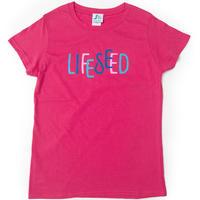 【LIFE SEED】 LOGO T-SHIRTS(BOUGAINVILLEA)  ※LADIES