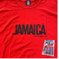最終再入荷!【TURTLE MAN's CLUB】『JAMAICA 』T-SHIRTS 《ORIGINAL RED》※オリジナルポケットテッシュ付