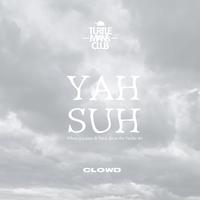 "TURTLE MAN's CLUB  ""YAH SUH"" T-SHIRTS[CLOWD]【受注商品】"