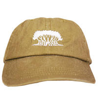 【LIFE SEED】JAH WORKS Pigment-Dyed Cap Y/OCHER