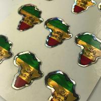 ジャマイカ直輸入  アフリカ ステッカー キラ ※数量限定