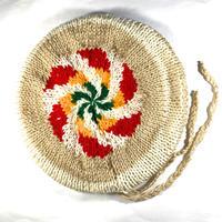 ジャマイカ直輸入!一点物!JR GONGと同じデザイナーが作ったハンドメイドタム(ニット帽)