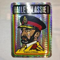 ジャマイカ ハイレセラシアイ(HAILE SELASSIE I)ステッカー キラ ※数量限定