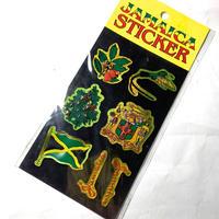ジャマイカ海外直輸入  ジャマイカ キラ ステッカー ※数量限定