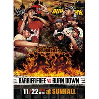 BARRIER FREE vs BURN DOWN 「決戦 -SOUND CLASH-」(DVD)
