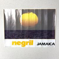 JAMAICA 有名写真家RAY CHEN ビンテージ ポスター【NEGRIL】