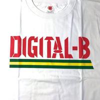 デッドストック  DIGITAL-B  OFFICIAL T-SHIRTS (WHITE)ROCKERS ISLAND