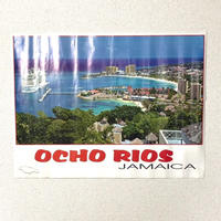 JAMAICA 有名写真家RAY CHEN ビンテージ ポスター【OCHO RIOS】