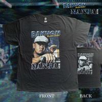 待望の再入荷!NANJA MAN DJ T-SHIRTS《BAKUON NANJA》(両面プリント) Created by TURTLE MAN's CLUB