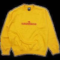 TURTLE MAN's CLUB SWEAT SHIRT[YELLOW]