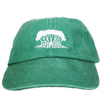 【LIFE SEED】JAH WORKS  Pigment-Dyed Cap I/ GREEN